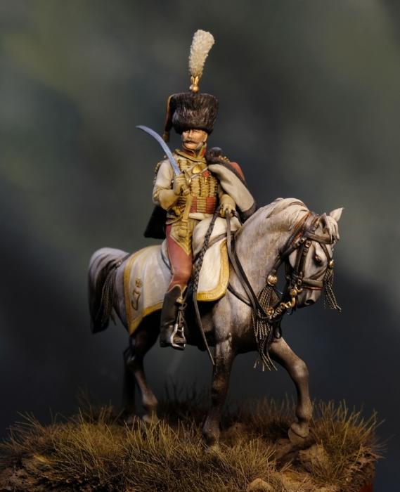 Conte Lucio Caracciolo di Rocca Romana, colonnello dei veliti della Guardia  Reale Napoletana, 1812