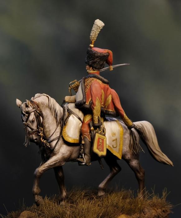 Conte Lucio Caracciolo di Rocca Romana, colonnello dei veliti della Guardia  Reale Napoletana, 1812 b