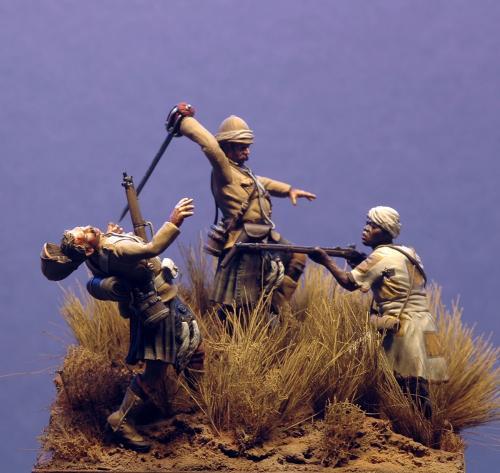 Omdurman 1st Cameron Highlanders, 2 settembre 1898