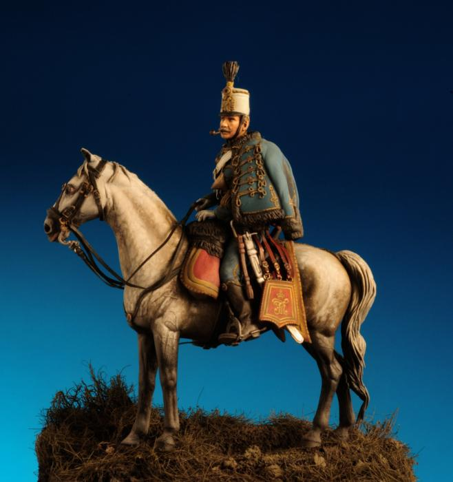 Ussaro Austriaco Regg. FML Graf  Haller- Montebello 1859 -