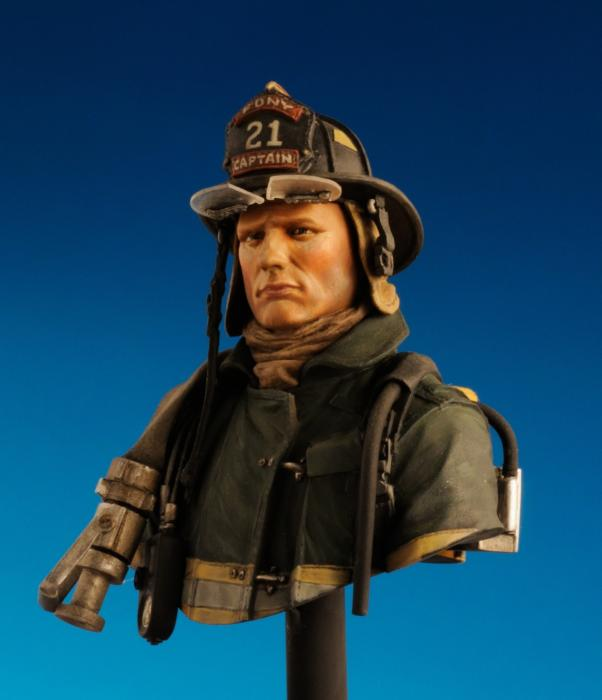 N.Y. Firefighter 11/09/2001