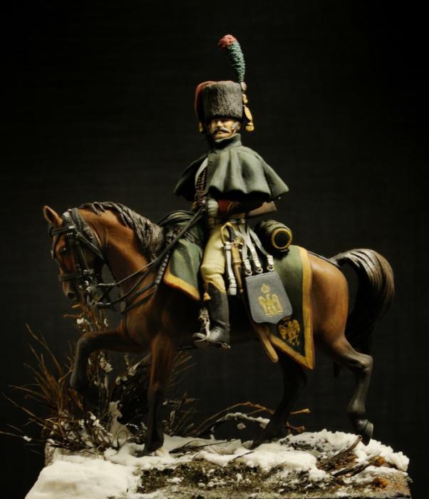 Guardia Imperiale Cacciatore a cavallo Spagna 1808
