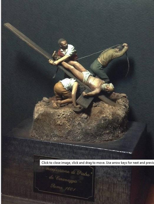 La crocifissione di Pietro, Caravaggio 1601