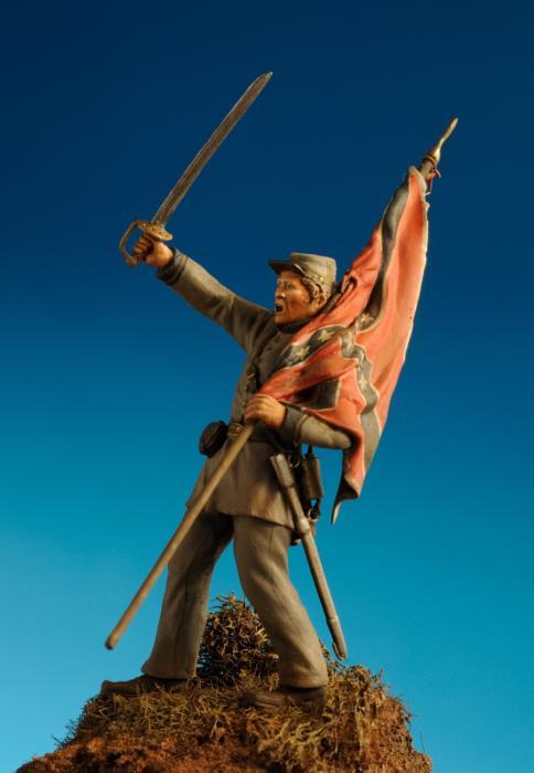 Lieutenant Maryland infantry, Gettysburg 1863