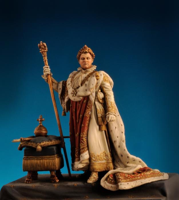 Napoleone in vesti da  Imperatore Parigi 1804