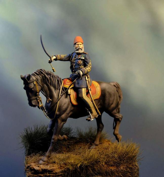 Maresal Osman Nuri Pasha, Russo – Turkish War, 1877 - 1878