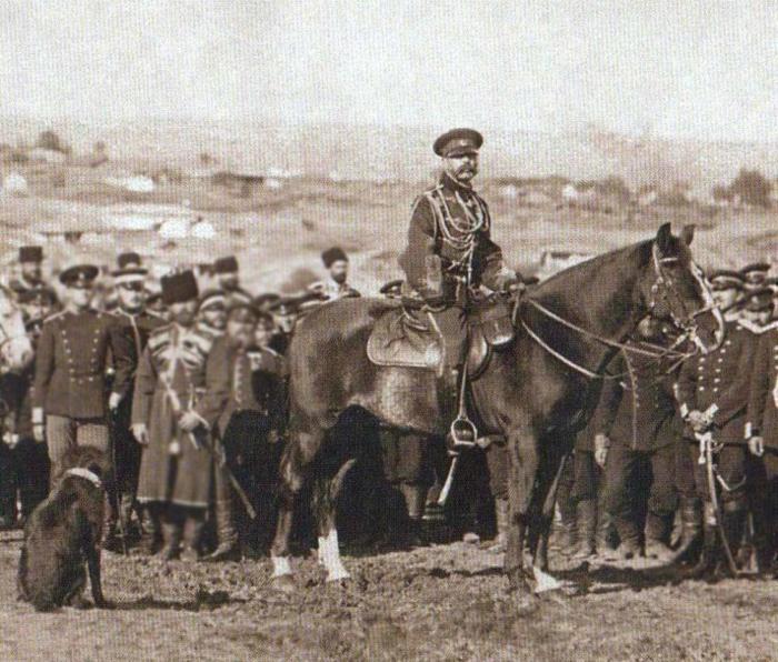 Imperatore Alessandro II, assedio di Pleven, settembre 1877 (21)