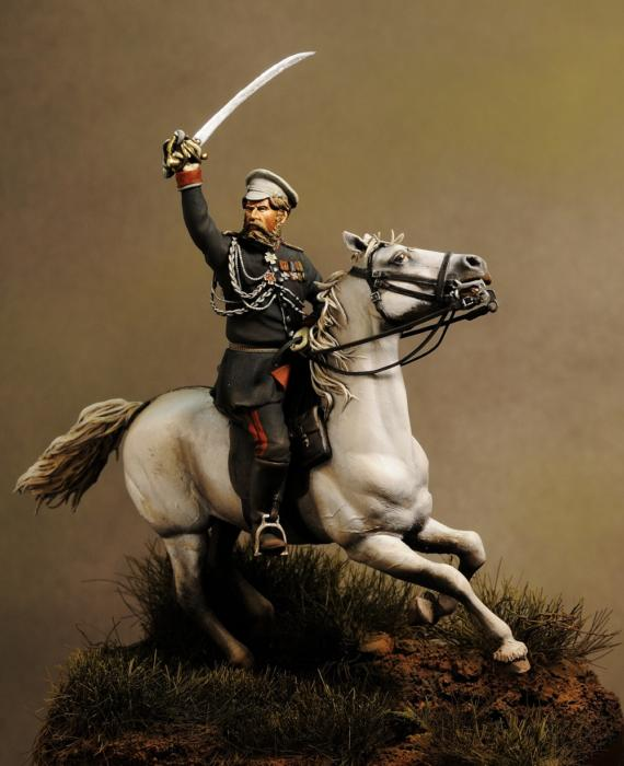 General M.D. Skobelev Russo Turkish War 1877 - 1878
