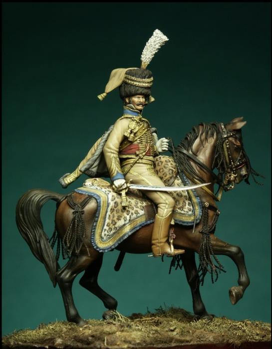 Comandante Champeaux ADC di Bernadotte -Francia 1806