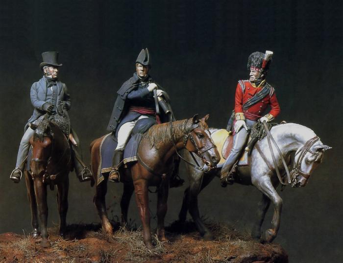 Wellington, Picton and Ponsonby, Waterloo 18 giugno 1815