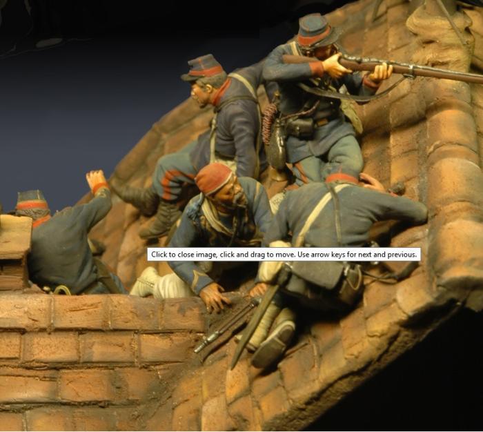 Combat sur les toits, Paris 1870